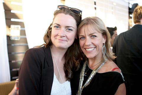 Meaghan Brander with Karen Bruce from Revolution films, producers of Everyday